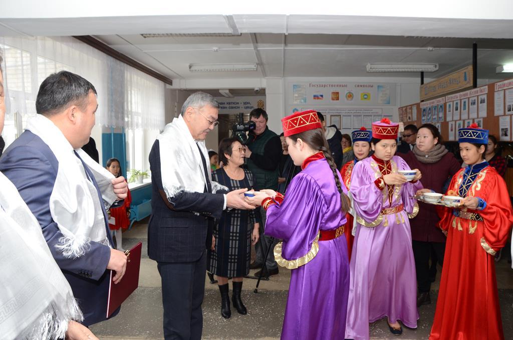 Алексей Орлов посетил МБОУ «Оргакинская СОШ им.Э.Чоноскаева»