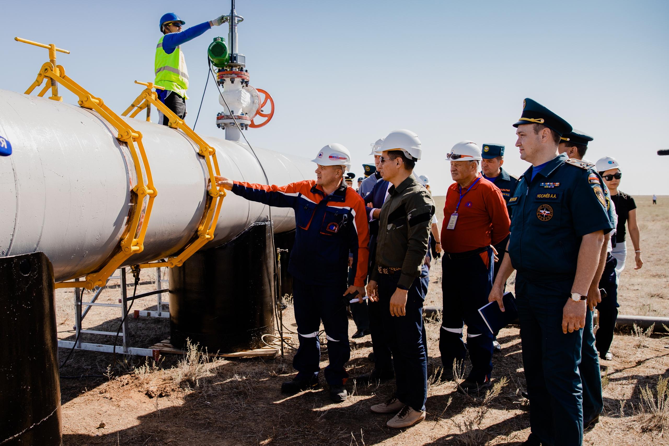 КТК и ГУ МЧС России по Республике Калмыкия провели совместные комплексные учения